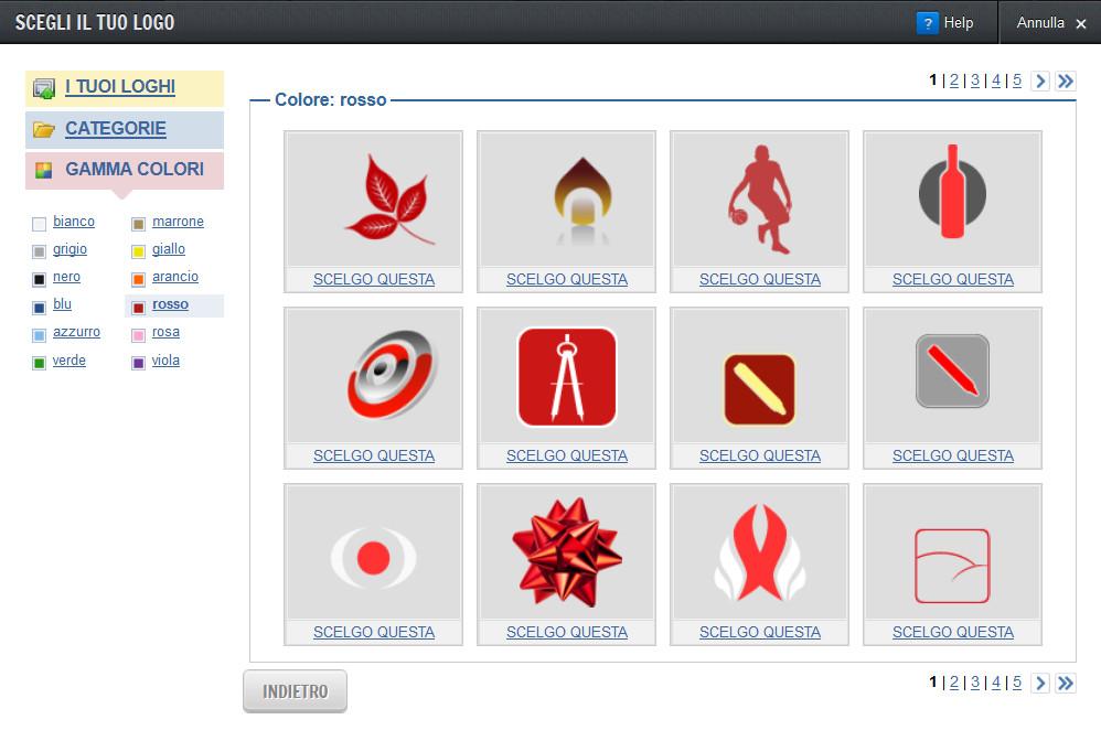 Inserisci un logo nella testata come fare un sito internet for Logo sito internet